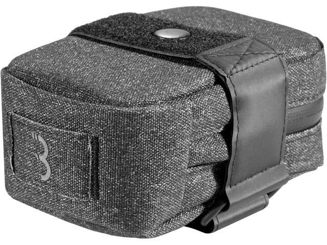 BBB Compacked Sadeltaske M, sort/grå